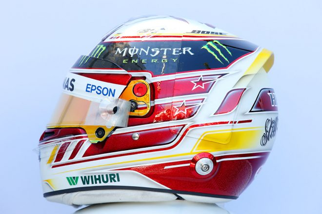 F1 | ルイス・ハミルトン(Lewis Hamilton) 2018年のヘルメット2