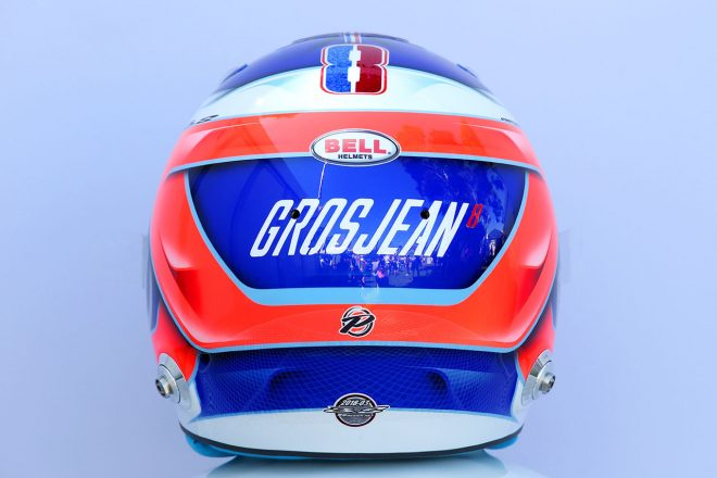 F1 | ロマン・グロージャン(Romain Grosjean) 2018年のヘルメット3