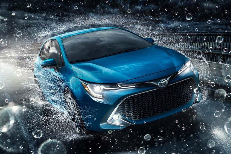 クルマ | トヨタ、『カローラ ハッチバック』をNYショーで初公開。国内導入は今夏を予定