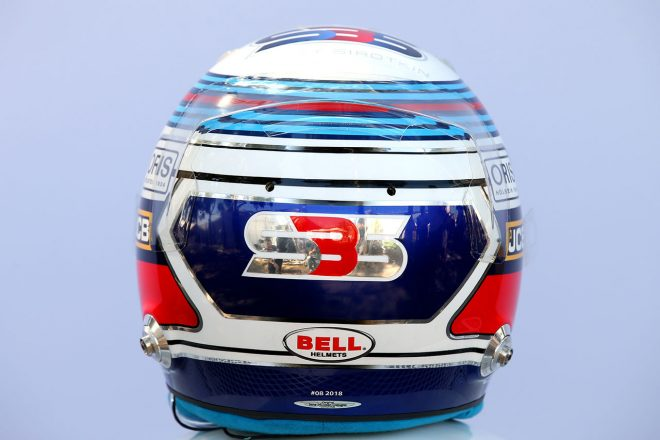 F1 | セルゲイ・シロトキン(Sergey Sirotkin) 2018年のヘルメット3