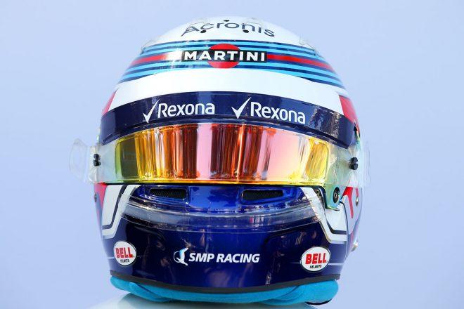 F1 | セルゲイ・シロトキン(Sergey Sirotkin) 2018年のヘルメット2