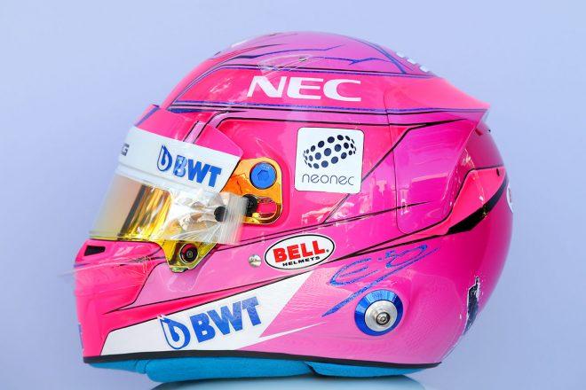 F1   エステバン・オコン(Esteban Ocon) 2018年のヘルメット2
