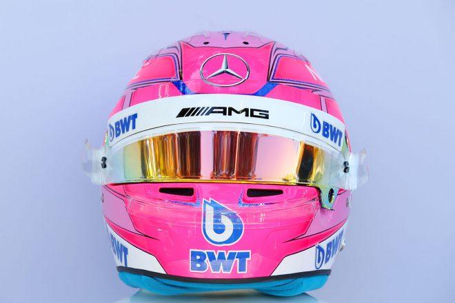 F1   エステバン・オコン(Esteban Ocon) 2018年のヘルメット1