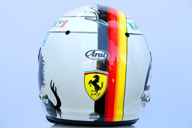 F1 | セバスチャン・ベッテル(Sebastian Vettel) 2018年のヘルメット3