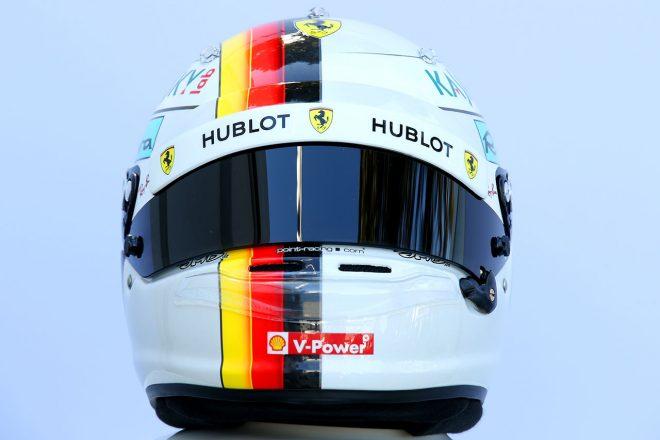 F1 | セバスチャン・ベッテル(Sebastian Vettel) 2018年のヘルメット1
