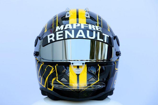 F1 | ニコ・ヒュルケンベルグ(Nico Hulkenberg) 2018年のヘルメット1