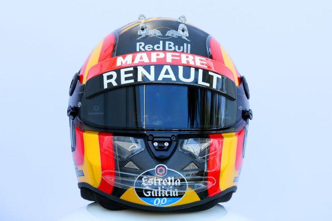 F1 | カルロス・サインツJr.(Carlos Sainz Jr.) 2018年のヘルメット1