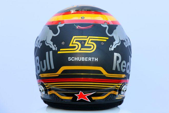 F1 | カルロス・サインツJr.(Carlos Sainz Jr.) 2018年のヘルメット3
