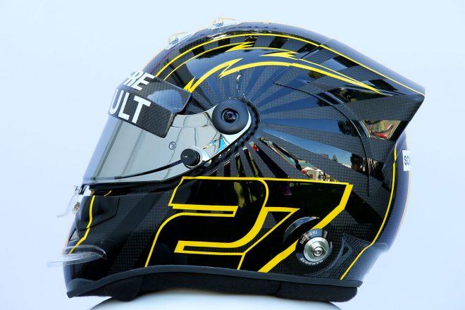 F1 | ニコ・ヒュルケンベルグ(Nico Hulkenberg) 2018年のヘルメット2