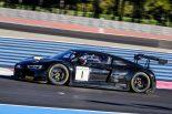 ポール・リカールで行われた公式テストに参加した1号車アウディR8 LMS