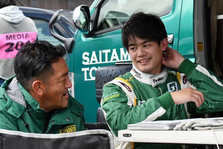 国内レース他   GR 86/BRZ Race参戦を目指す小塚崇彦がサーキットデビュー。「緊張しました!」