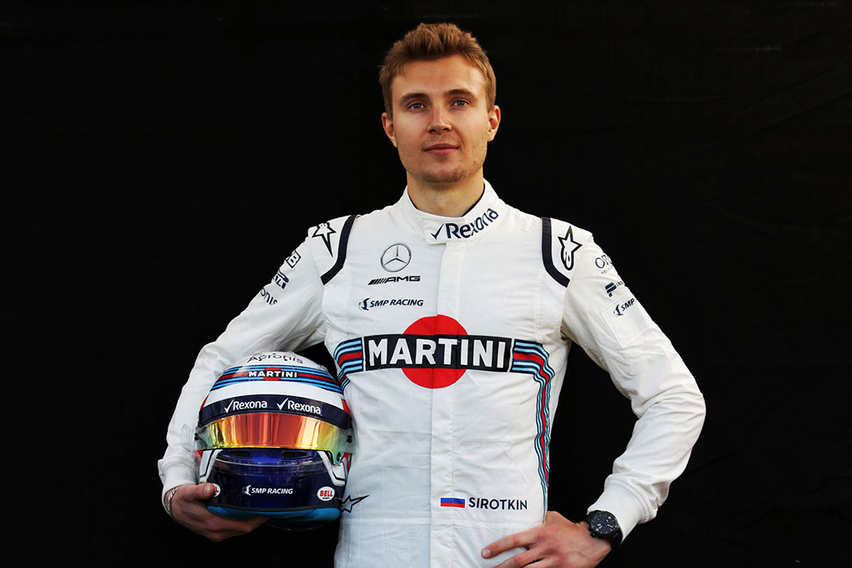 F1 | セルゲイ・シロトキン(Sergey Sirotkin)(ウイリアムズ・マルティニ・レーシング) 2018年