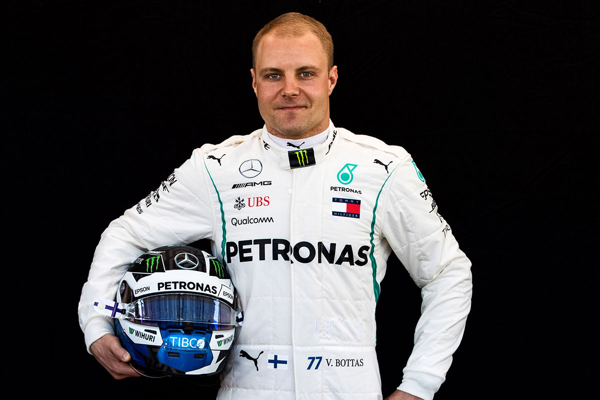 F1 | バルテリ・ボッタス(Valtteri Bottas)(メルセデスAMG・ペトロナス・モータースポーツ) 2018年