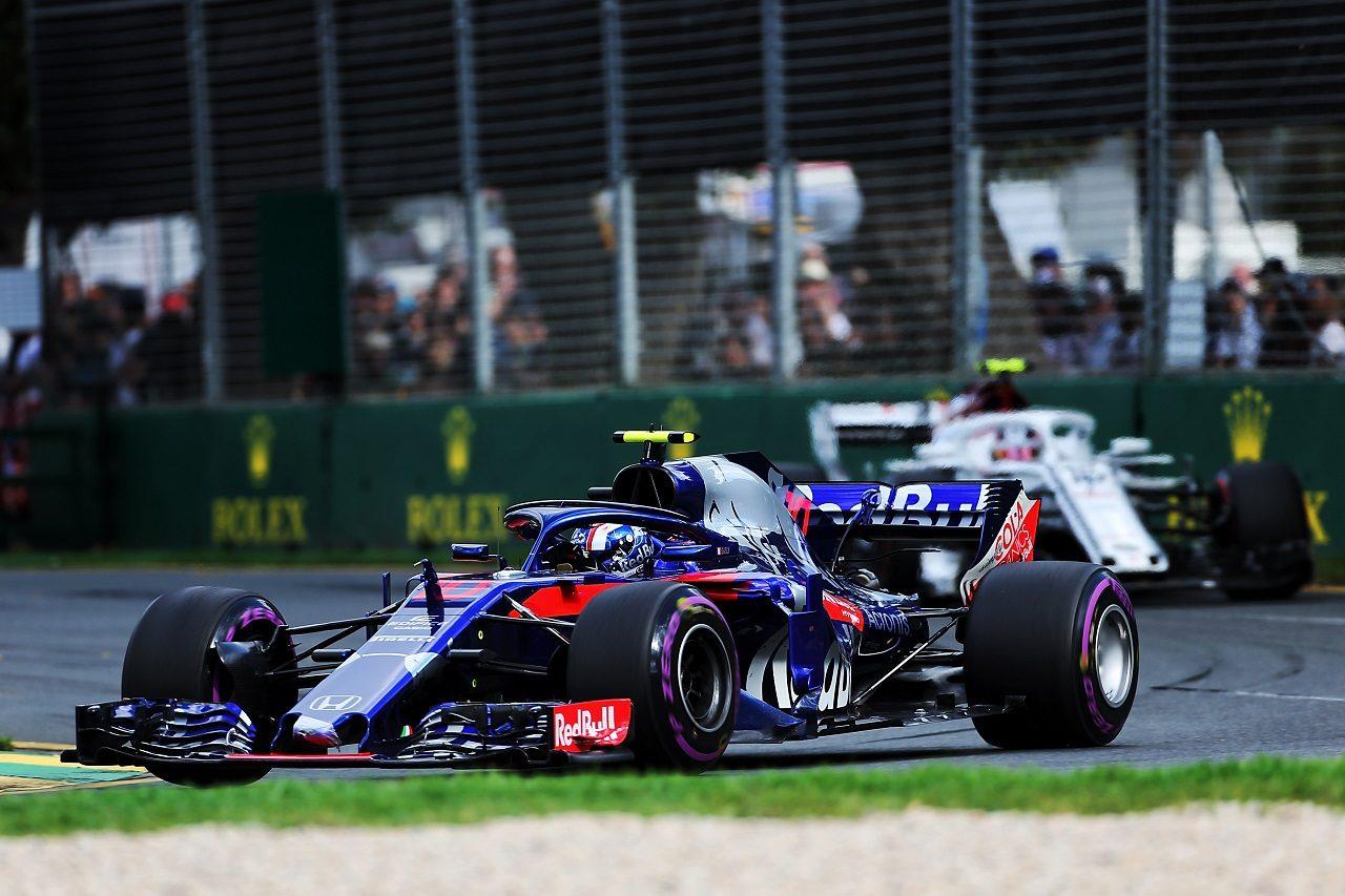 2018年F1第1戦オーストラリアGP ピエール・ガスリー(トロロッソ・ホンダ)