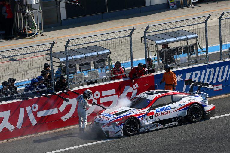 スーパーGT   スーパーGT富士公式テスト:GT500の3車にトラブル。「開発競争が際どいところに」