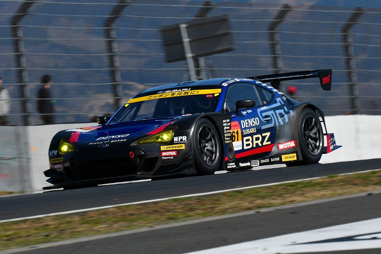 スーパーGT富士公式テスト:ロング主体の2日目午後はカルソニック最速。GT500にトラブル相次ぐ