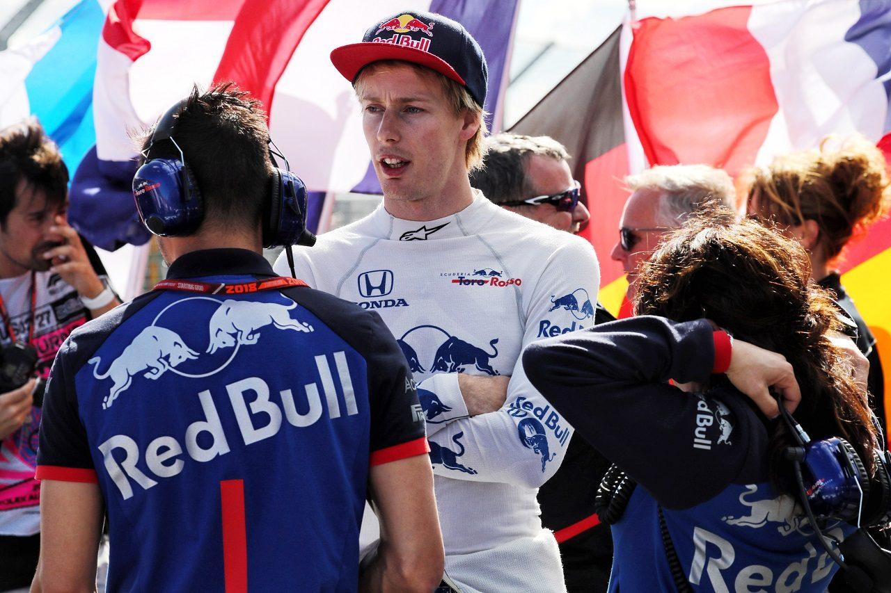 2018年F1第1戦オーストラリアGP ブレンドン・ハートレー(トロロッソ・ホンダ)