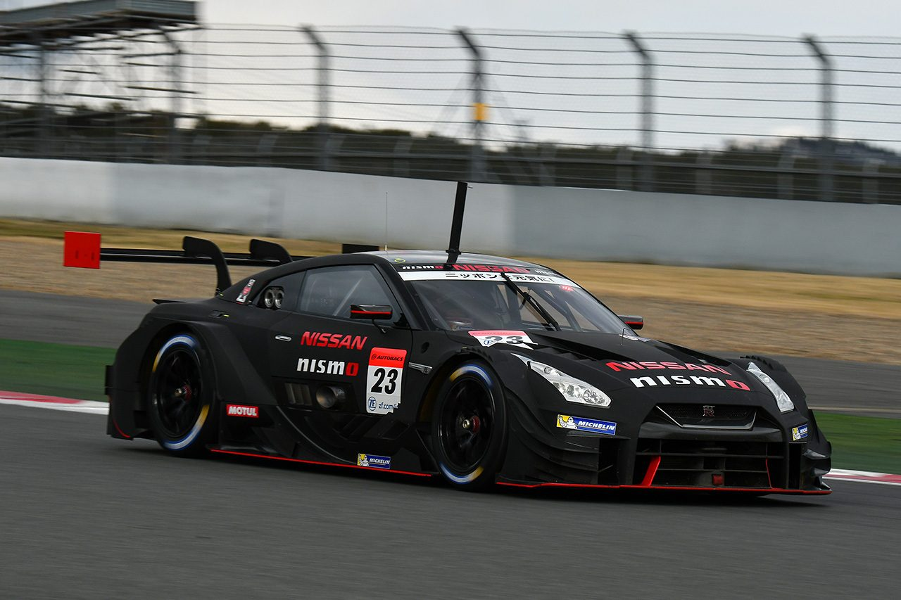 スーパーGT富士公式テスト:GT500の3車にトラブル。「開発競争が際どいところに」