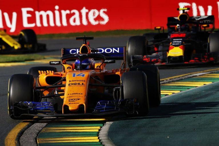 F1 | アロンソ5位「近い将来、中段グループのことは忘れて、レッドブルと戦えるようになる」マクラーレン F1オーストラリアGP日曜