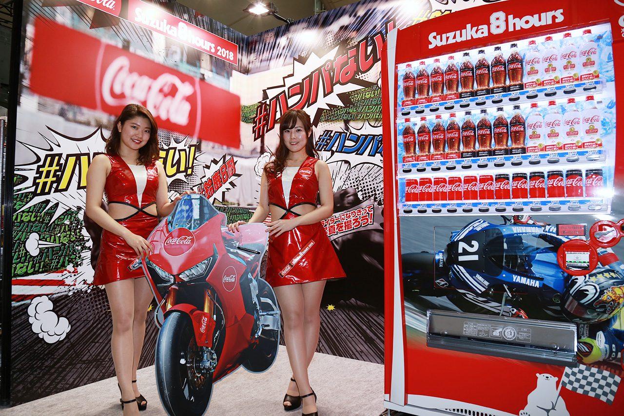 東京モーターサイクルショーの鈴鹿8耐ブース