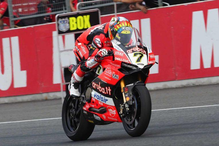 MotoGP | SBK第2戦レース2:ヤマハの両雄が表彰台獲得。優勝はドゥカティのデイビスが飾る