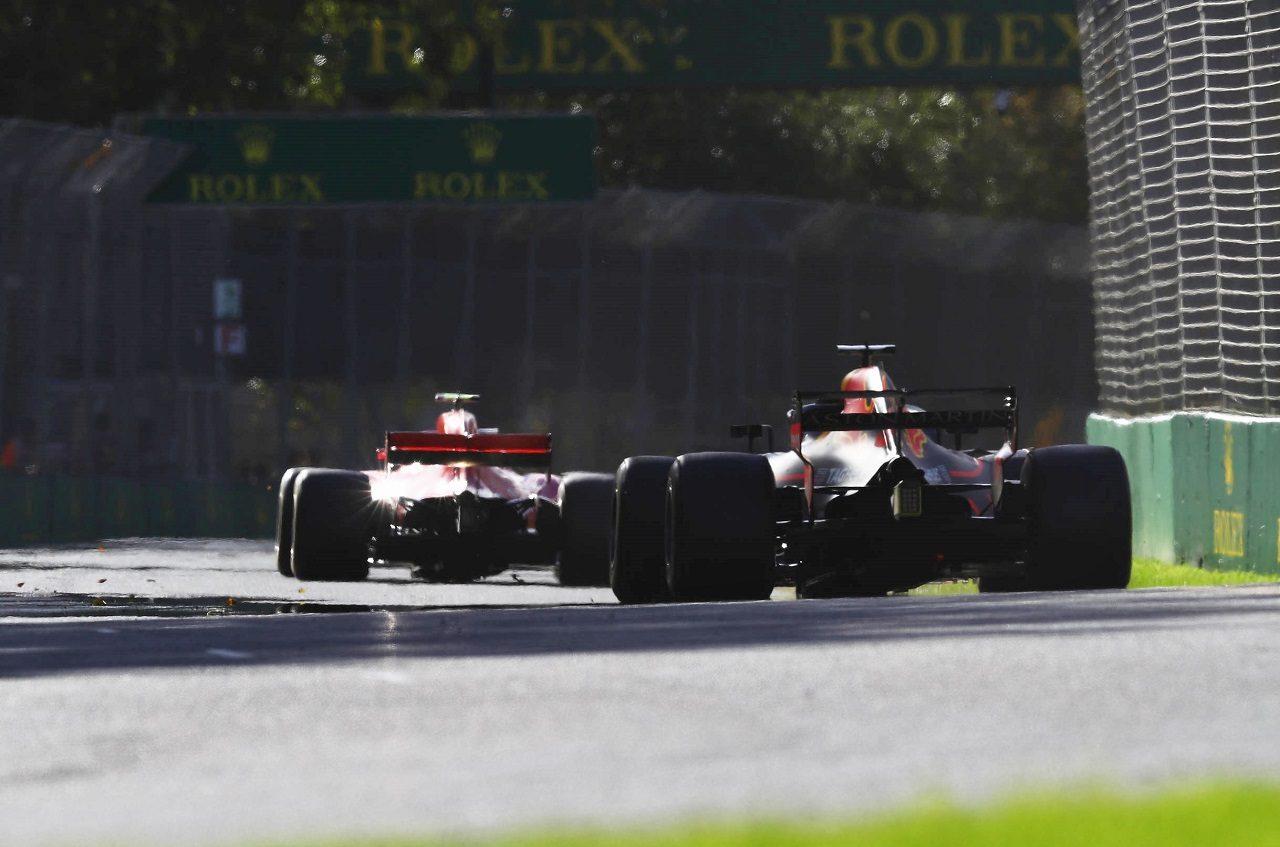 2018年F1第1戦オーストラリアGP ダニエル・リカルド(レッドブル)