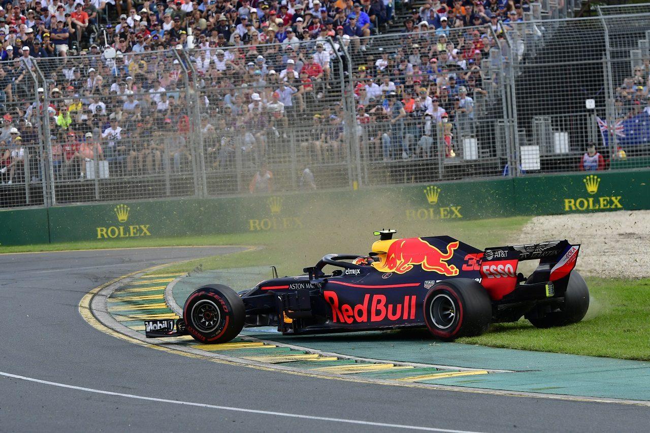 2018年F1第1戦オーストラリアGP マックス・フェルスタッペン(レッドブル)