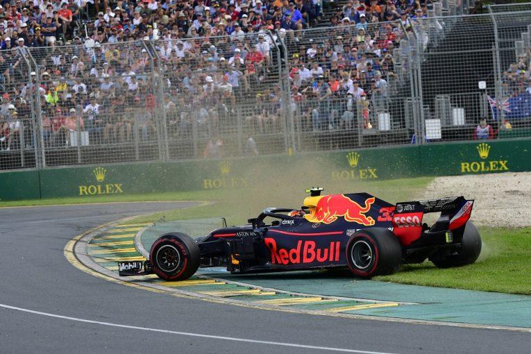 F1 | フェルスタッペン「原因不明のダメージで苦しみ、360度スピン」レッドブル F1オーストラリアGP日曜