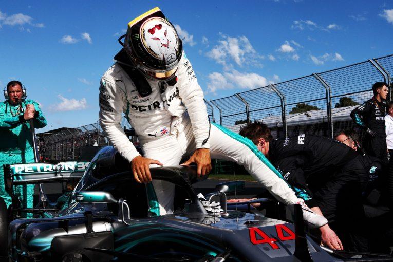 F1 | ハミルトン「必要ならもっと速く走れた。今日の敗北は避けることができたのに」メルセデス F1オーストラリアGP日曜