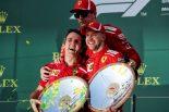 F1 | ベッテル優勝のチャンスを引き寄せたライコネンの働き【今宮純のF1オーストラリアGP決勝分析】