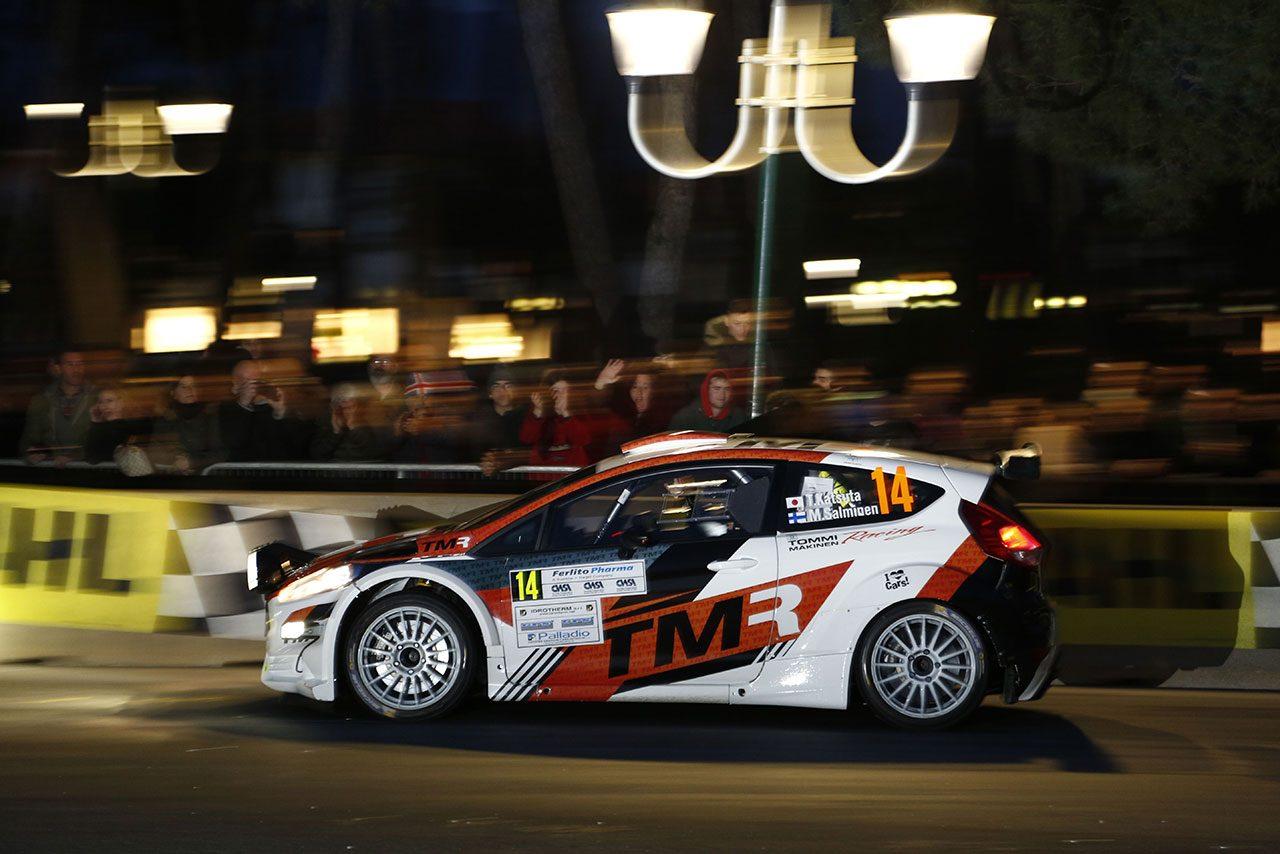 WRCスウェーデンウイナーの勝田貴元、イタリア国内ラリーで4位入賞。「成長を証明できた」