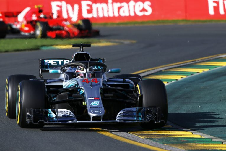 F1   F1オーストラリアGPで優勝を逃したハミルトン、戦略決定に人間の意見を取り入れることを望む