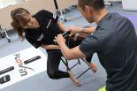 MotoGP | MotoGPでも必要とされる体幹。プロライダーたちが行うトレーニング方法をきい様が体験