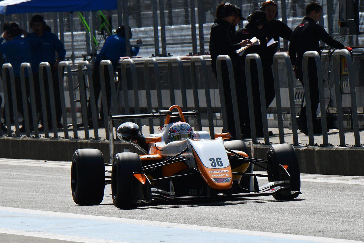 【タイム結果】全日本F3選手権 富士合同テスト