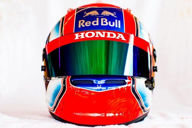 F1 | ピエール・ガスリー(Pierre Gasly) 2018年のヘルメット1