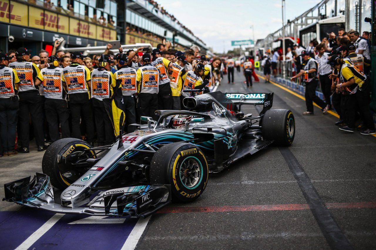 2018年F1第1戦オーストラリアGP ルイス・ハミルトン(メルセデス)