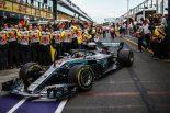 F1 | ハミルトンのパワーユニットにダメージなしとメルセデスは確信。「1勝よりもタイトルが重要」とバトルを断念して温存