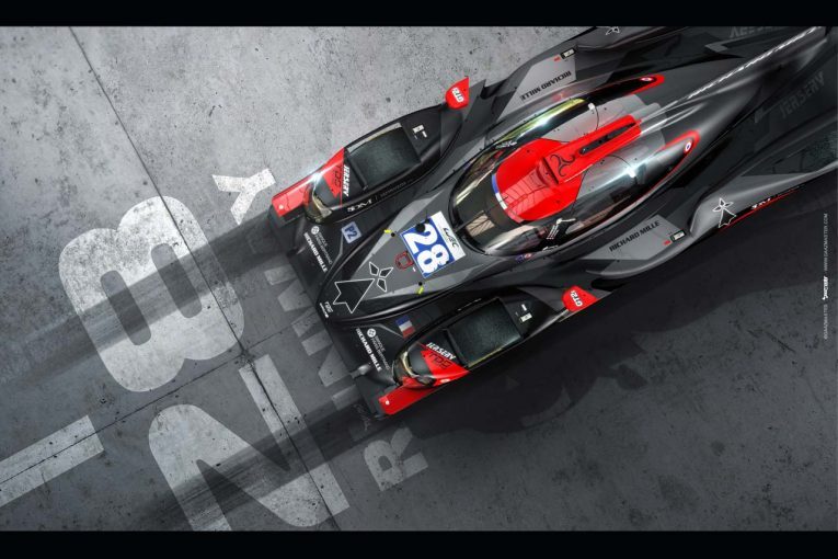 昨年の白基調からグレーベースのカラーリングとなったTDSレーシングのオレカ07