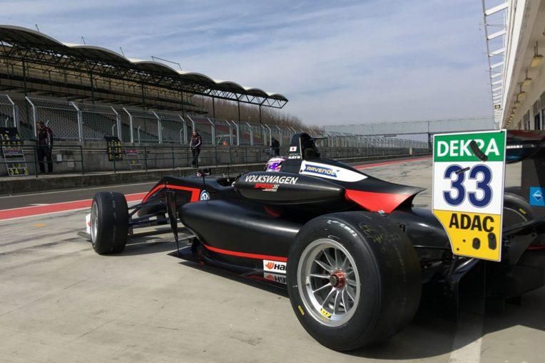 海外レース他   ヨーロピアンF3:佐藤万璃音、4日間の合同テストを順調に消化「とても収穫のあるテスト」