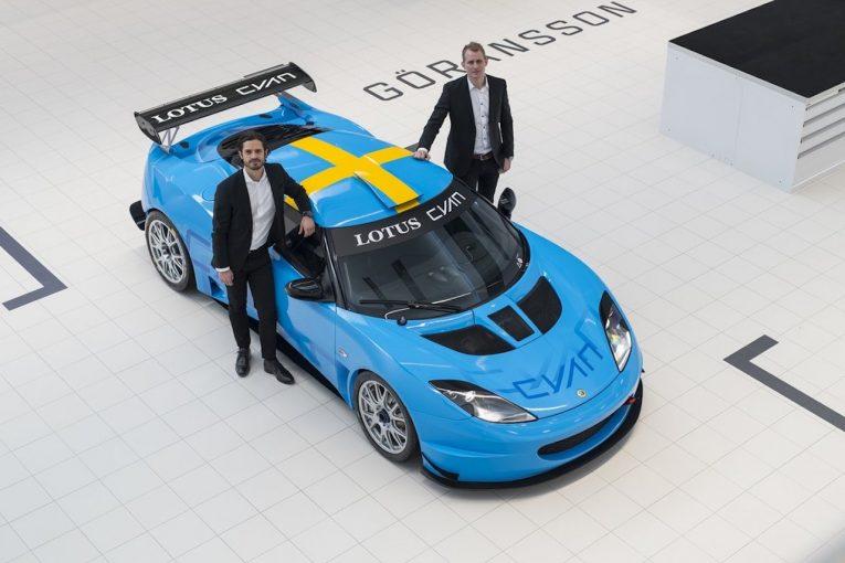 海外レース他 | シアン・レーシング、『ロータス・エヴォーラGT4』でスウェデッシュGT参戦へ
