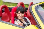 SKE48卒業生の梅本まどかさん。2018年はコドライバーとしてTGRラリーチャレンジに参戦する