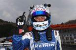 予選Q2のアタッカーを務めた塚越広大(KEIHIN NSX-GT)