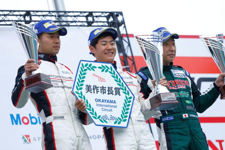 PCCJ第1戦オーバーオール表彰台