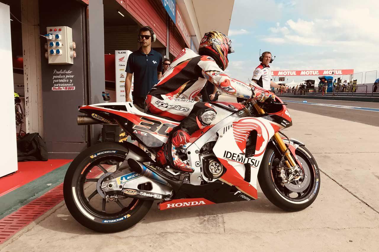 MotoGP:中上、アルゼンチンGP初日の終盤はユーズドタイヤでの走行に集中