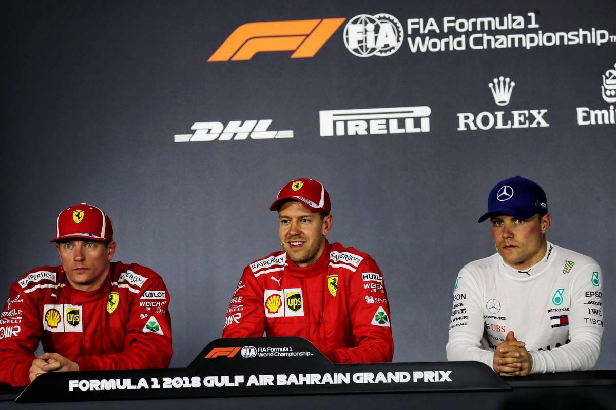 2018年F1第2戦バーレーンGP 予選記者会見