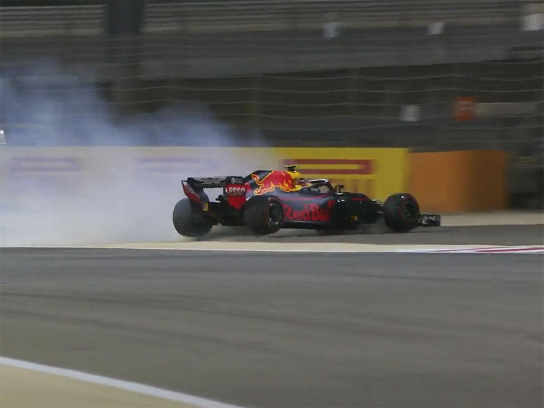 【動画】フェルスタッペンがQ1でクラッシュ/F1バーレーンGP予選