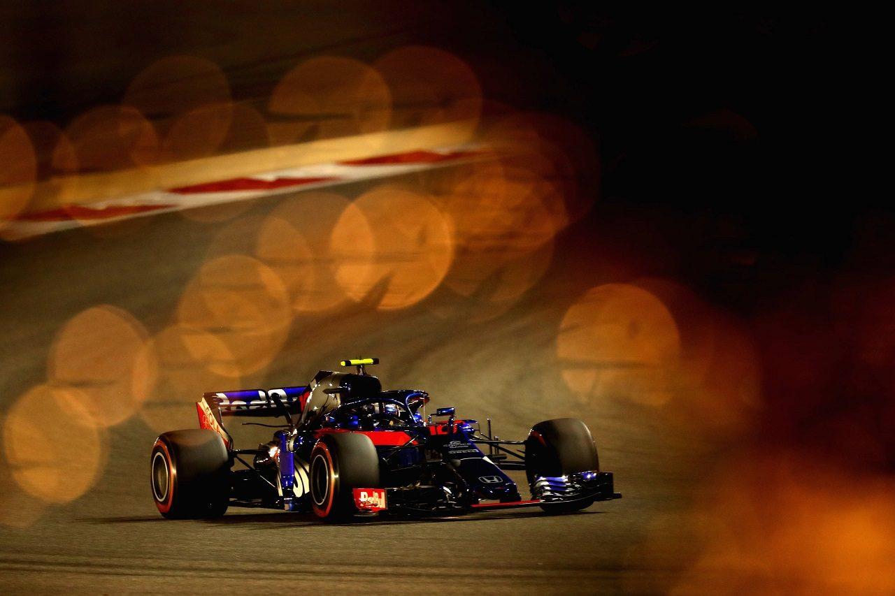 2018年F1第2戦バーレーンGP ピエール・ガスリー(トロロッソ・ホンダ)