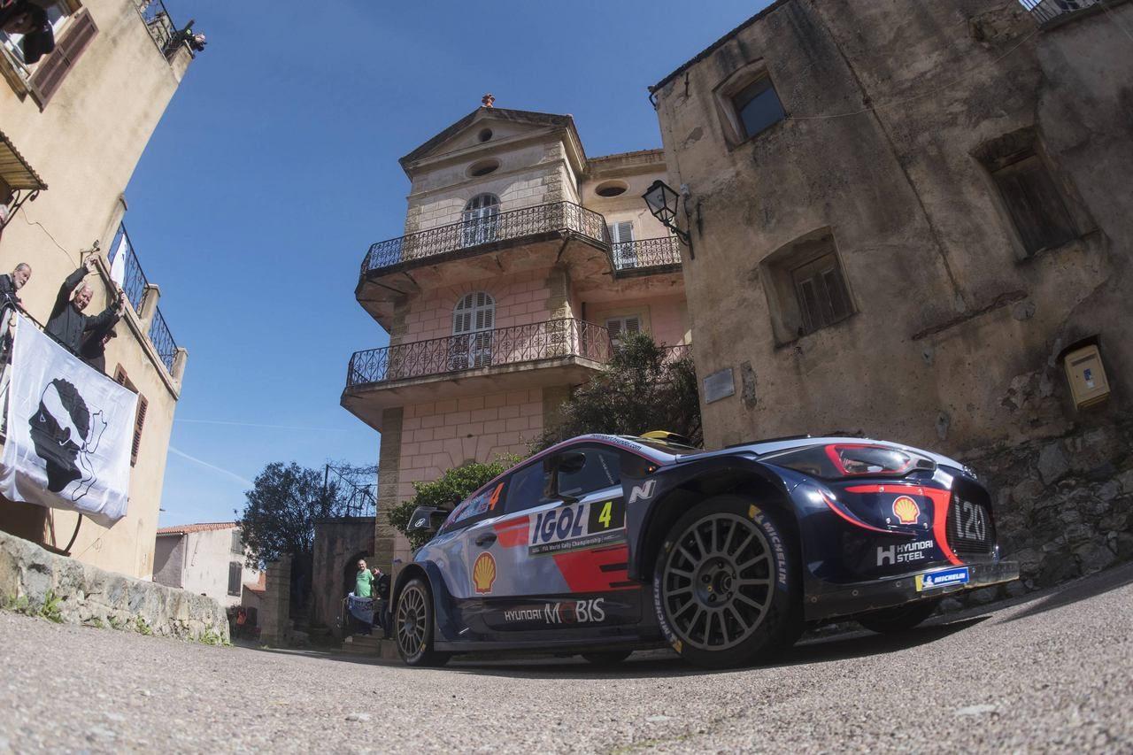 【順位結果】WRC第4戦ツール・ド・コルス SS10後