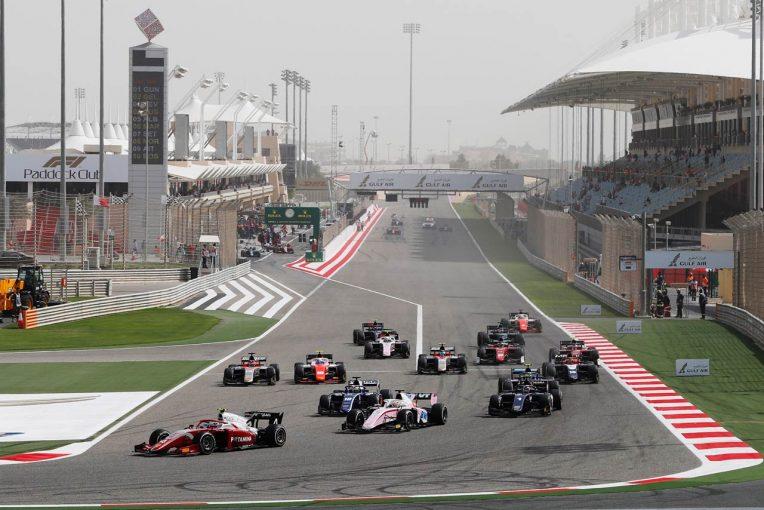 海外レース他   F2第1戦バーレーン レース2:福住が8位。牧野はアクシデントが響き入賞ならず
