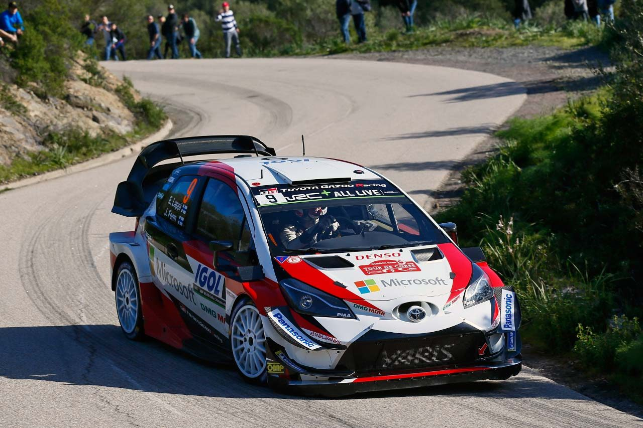 WRC:トヨタ、開幕戦以来の2位獲得。鬼門のコルシカで「素晴らしい結果を残した」